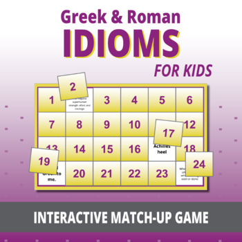 SL Games: Idioms, Phrases, and Proverbs