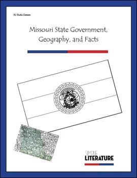 SL State Games: Missouri State Government, Geography, and Facts