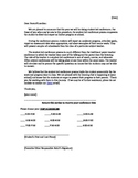 SL conference letter to parents