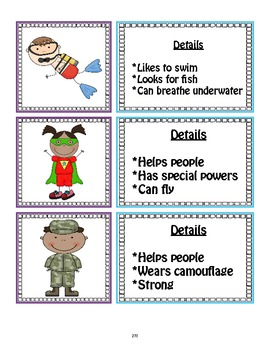 SL.1.4 First Grade Common Core Worksheets, Activity, and Poster