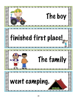 SL.1.6 First Grade Common Core Worksheets, Activity, and Poster