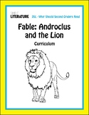 "2SL Fable - ""Androclus and the Lion"" Comprehensive Short Story Reading Unit"