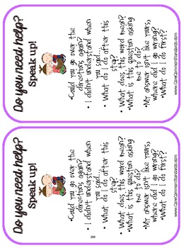 SL.2.6 Second Grade Common Core Worksheets, Activity, and Poster