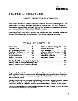 4SL - Hercules and Atlas Curriculum - Common Core Characters in Mythology