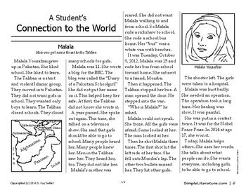 Malala - How One Girl Was a Threat to the Taliban - 2SL3SL4SL5SL