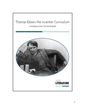 4SL - Thomas Edison the Inventor Curriculum - Electricity