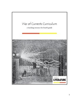 4SL - War of Currents Curriculum - Electricity