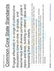 SL.4.1 Fourth Grade Common Core Worksheets, Activity, and Poster