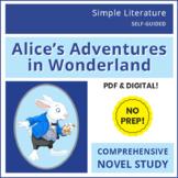 Alice's Adventures in Wonderland / Alice in Wonderland - SL Book Reading Unit