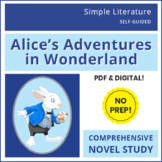 Alice's Adventures in Wonderland / Alice in Wonderland - SL Book Reading Unit