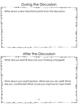 SL.5.1 Fifth Grade Common Core Worksheets, Activity, and Poster