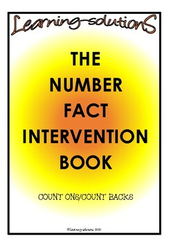 NUMBER FACTS - Count Ons and Count Backs - Intervention for Mastery
