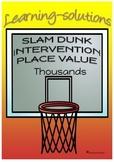 PLACE VALUE - Thousands - INTERVENTION & DIFFERENTIATION - Program & Task Cards