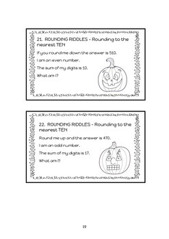 ROUNDING - NEAREST 10 - INTERVENTION & DIFFERENTIATION Program & 40 Task Cards
