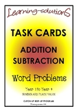 ADDITION and SUBTRACTION - 200 Task Cards to THOUSANDS - DIFFERENTIATED
