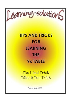 TIMES TABLES - SLAM DUNK the 9X TABLE - Tricks and Tips - FREEBIE