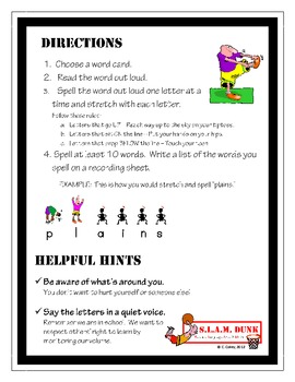 S.L.A.M. Dunk!  Anchor Activities for Lang. Arts and Math - Earth Science Pack