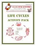 S.L.A.M. Dunk!  Anchor Activities for Language Arts and Math - Life Cycle Pack