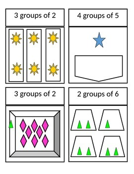 SLAM! Multiplication ( _ groups of _ )