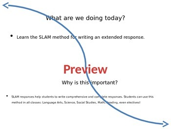 SLAM Response Tutorial and Guided Response Activity