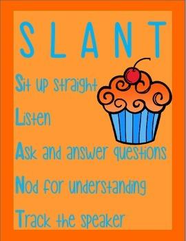 SLANT Cupcake Posters
