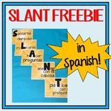 SLANT in Spanish