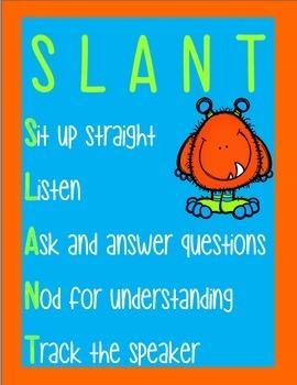 SLANT Monster Themed Posters