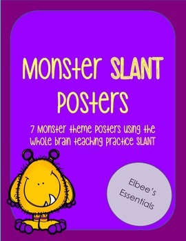 SLANT Monster Themed Posters