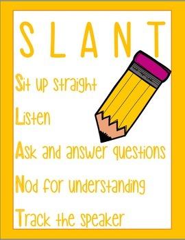 SLANT Pencil Posters