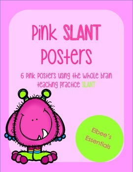 SLANT Pink Posters
