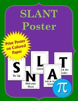 SLANT Poster