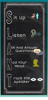 SLANT Poster: No Nonsense Nurturing Larger size