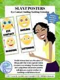 SLANT Posters- Visual Supports for Body Language in Communication