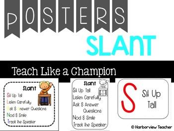 SLANT Posters