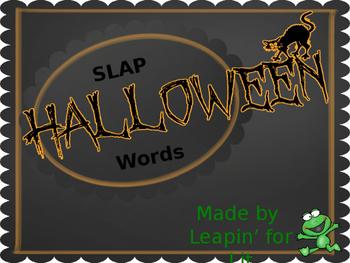 SLAP Halloween Words