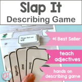 Adjectives Slap It Game for Speech Therapy | Describing Words