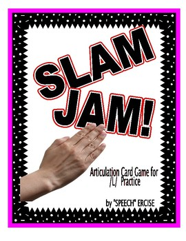SPEECH THERAPY SLAM JAM! An Articulation Card Game for /L/ Sound Practice