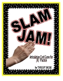 SPEECH THERAPY SLAM JAM! An Articulation Card Game for /R/ Sound Practice
