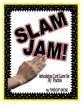 SPEECH THERAPY SLAP JACK! An Articulation Card Game for /R