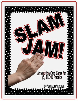 SPEECH THERAPY SLAP JACK! An Articulation Card Game for /S/ Blend Practice