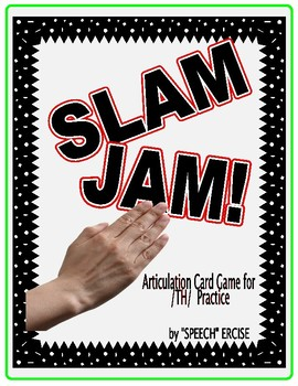 SPEECH THERAPY SLAP JACK! An Articulation Card Game for /th/ Sound Practice
