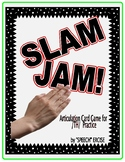 SPEECH THERAPY SLAM JAM! An Articulation Card Game for /th/ Sound Practice