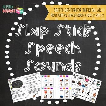 SLAP STICK SPEECH SOUND