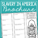 SLAVERY IN AMERICA Research Brochure Template, American Hi