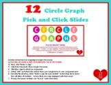 Dollar!  DISTANCE Circle Graph Interactive Pick and Click