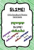 SLIME! Long Vowel CVCe (Magic e & Silent e) Reading & Phon