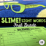 SLIME! Sight Words: First Grade Year Long Program (Fry's Words)