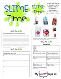 SLIME time: How To: make slime, procedural writing, physic