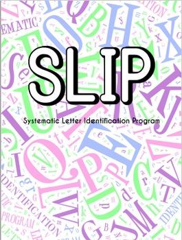 SLIP Systematic Letter Identification Program Lowercase