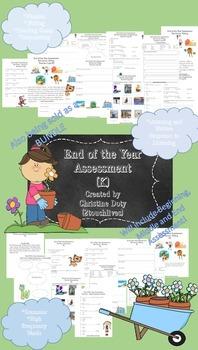 SLO Assessment Kindergarten End of Year